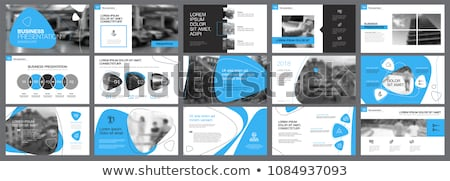 Paragraph black slide Stock photo © timbrk
