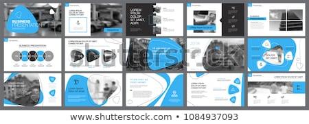 Párrafo negro Slide oro símbolo reflexión Foto stock © timbrk