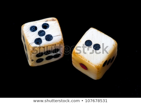lucky number seven with dice stock photo © creisinger