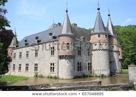 Old Castle in Spontin Stock photo © zhekos
