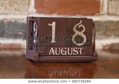 18th August Stock photo © Oakozhan