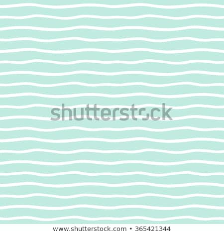 Vector Seamless Hand Drawn Wavy Horizontal Stripes Pattern Stock photo © CreatorsClub