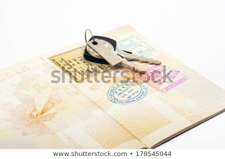 car key and passport stock photo © magraphics