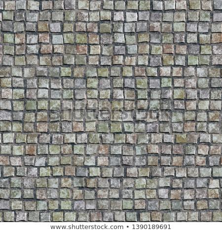 трава · зеленый · ретро · кирпичных · завода · шаблон - Сток-фото © stevanovicigor