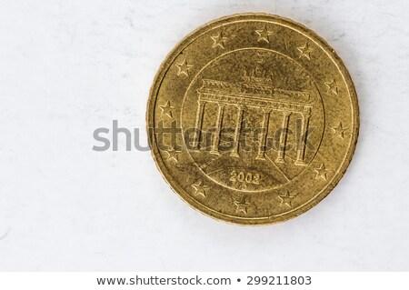 Euro · érme · Németország · érmék · mindkettő · nemzetközi - stock fotó © kirill_m