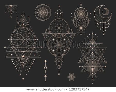 sacred geometry hipster symbol Stock photo © SArts