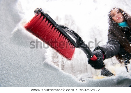 Scraping Car Windshield Stock photo © unkreatives