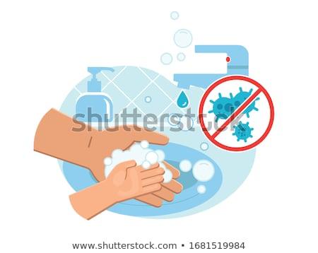 Yıkama eller bağlantı kirli gerek Stok fotoğraf © kali