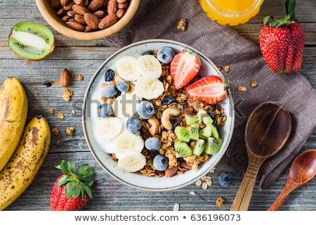 alimentos · saludables · símbolos · sin · gluten · azúcar · libre · orgánico - foto stock © tefi
