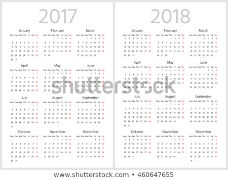 год · календаря · декабрь · изолированный · 3d · иллюстрации · весны - Сток-фото © oakozhan