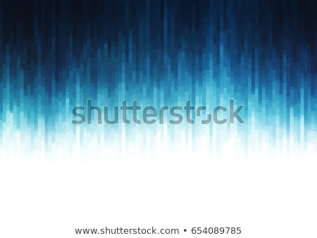 glitch abstract background in blue shade Stock photo © SArts