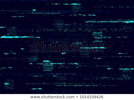 monitor glitch background vector Stock photo © SArts