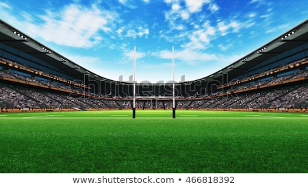 Rugby Stadium Day Stock photo © albund