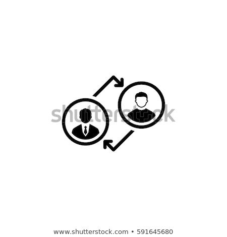 Edzés ikon üzlet terv izolált illusztráció Stock fotó © WaD