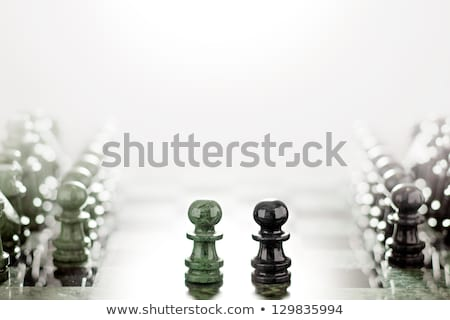 Face to face like wall and axe.  Stock photo © Fisher