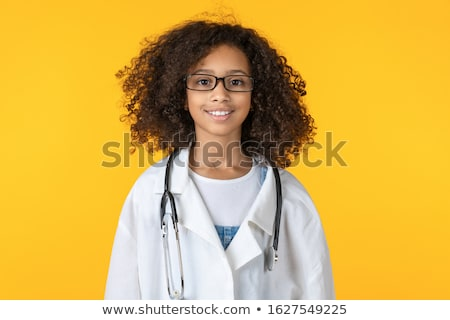 Mädchen · Arzt · Kostüm · schönen · kleines · Mädchen - stock foto © LightFieldStudios