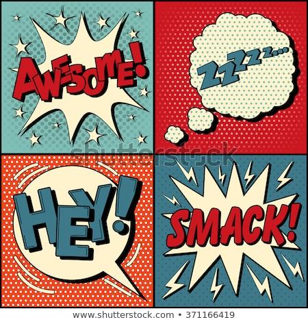 zzz comic word Stock photo © studiostoks