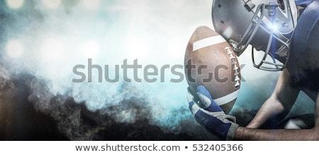 Americano capacete retrato Foto stock © wavebreak_media