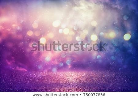 Rosa roxo azul abstrato bokeh luzes Foto stock © TasiPas