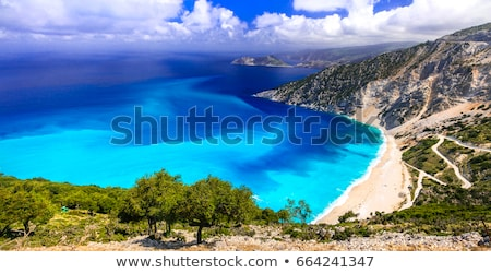 красивой · пляжей · острове · панорамный · мнение · пляж - Сток-фото © Freesurf