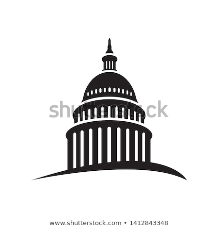 Capitol hill outline vector illustration  Stock photo © Slobelix