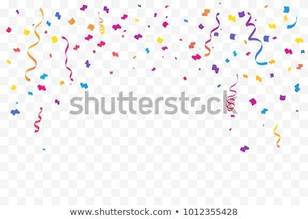 Confetti transparant vector vallen gouden schitteren Stockfoto © Andrei_