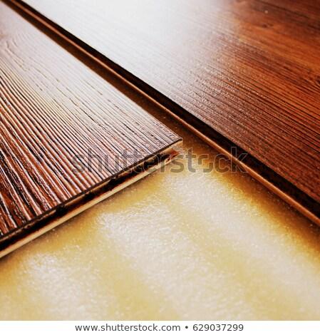Stock fotó: Barna · padló · deszkák · közelkép · ház · ceruza
