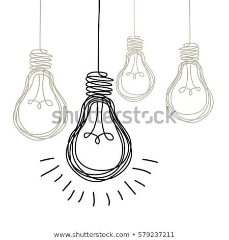 Business Cooperation Concept with Doodle Design Icons. Stock photo © tashatuvango