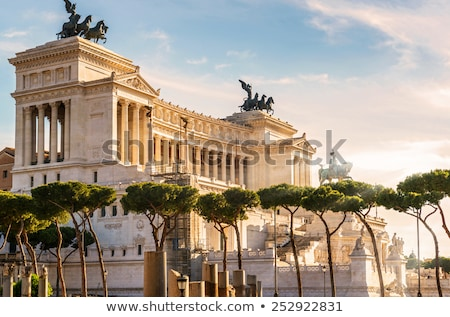 monument of victor emmanuel stock photo © givaga