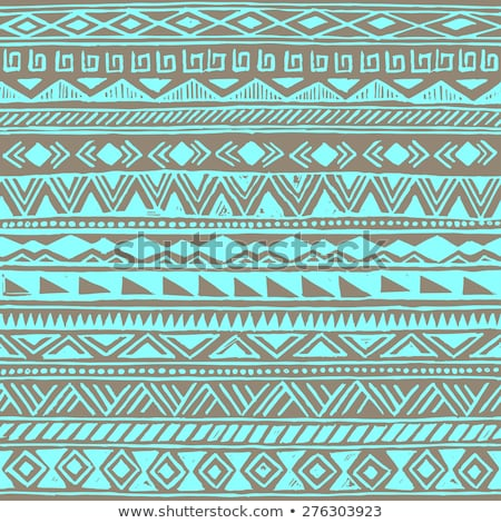light green native american ethnic pattern Stock photo © vector1st