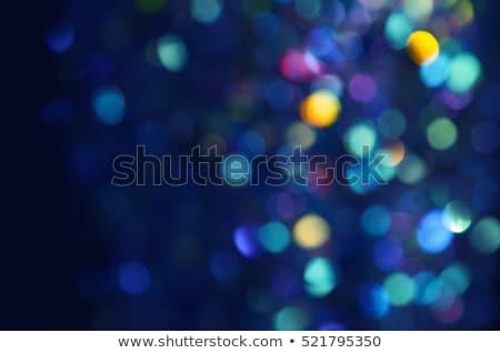 Ano novo festa projeto bokeh luzes Foto stock © articular
