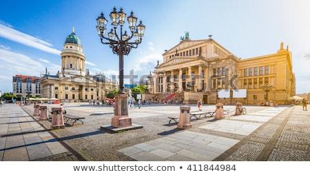ベルリン · クリスマス · 市場 · 建物 · 市 · 光 - ストックフォト © benkrut