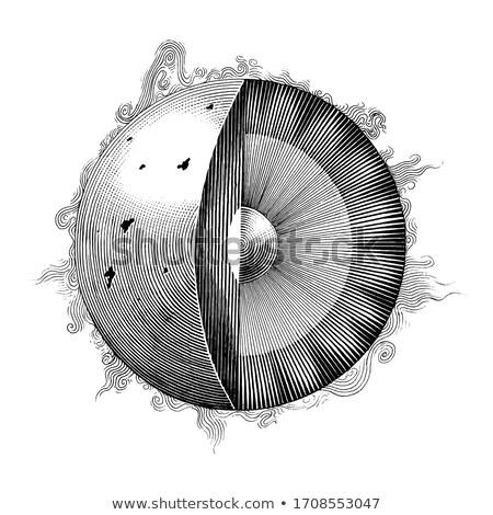 pianeta · anello · galassia · illustrazione · natura · panorama - foto d'archivio © cidepix