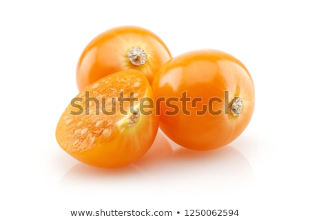 Stok fotoğraf: Cape Gooseberry Physalis Isolated On White Background