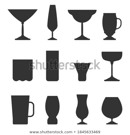 Drink Types White Wine Champagne Classical Alcohol Stock photo © robuart