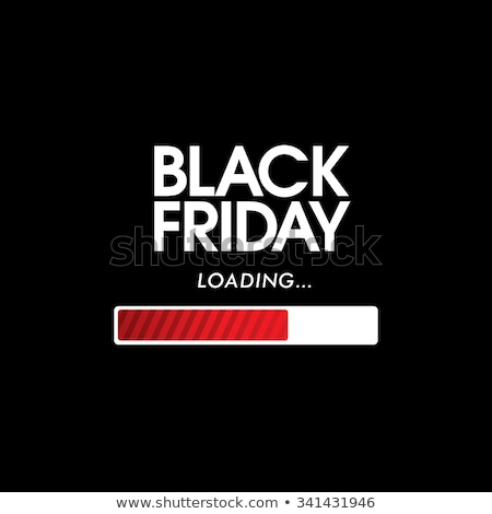 black · friday · annonce · noir - photo stock © ivelin