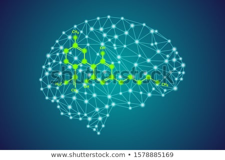 Cannabis Brain Stock photo © Lightsource