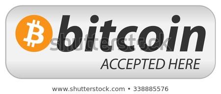bitcoin · grafika · szett · különböző · szimbólumok · üzlet - stock fotó © smoki
