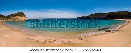 luxus · jacht · modern · szabadidős · sziget · Seychelle-szigetek - stock fotó © lovleah