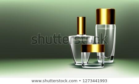 cosmetici · vetro · vettore · bottiglia · jar - foto d'archivio © pikepicture