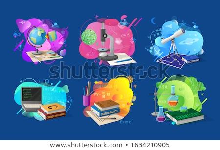 Astronomia kodowanie szkoły wektora programowanie ekonomika Zdjęcia stock © robuart