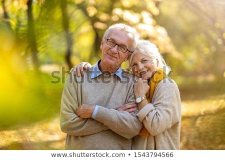 couple · de · personnes · âgées · permanent · hôpital · ensemble · médicaux · couple - photo stock © pressmaster