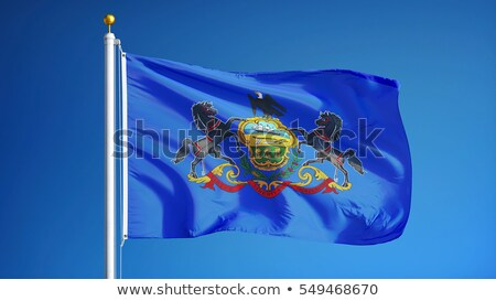 Flag of the Commonwealth of Pennsylvania Stock photo © grafvision