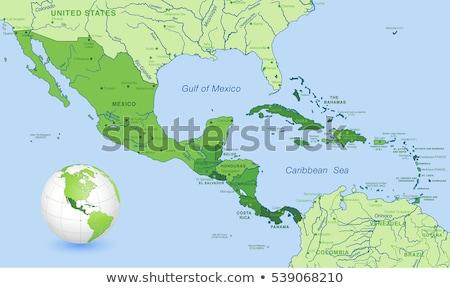Guatemala Nicaragua Panamá República Dominicana Cuba vector Foto stock © ConceptCafe