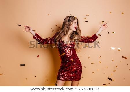 幸せ 笑顔の女性 豪華な 髪 ストックフォト © vkstudio