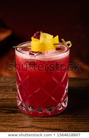 soda · água · limão · fatias · vidro · textura - foto stock © marylooo
