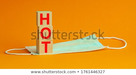 hot offer   text in colorful cubes stock photo © marinini