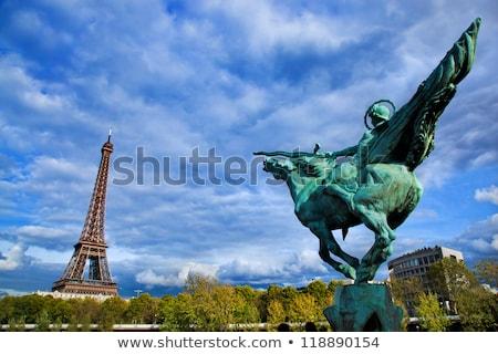 Eiffel Tower, fountain in Paris, Fance. Stock photo © photocreo