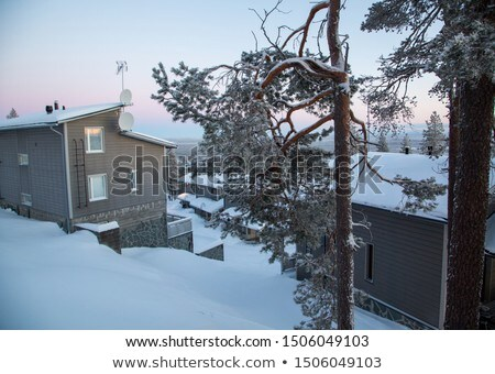 chalet 01 Stock photo © LianeM