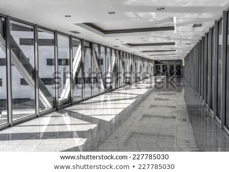 Empty passageway between buildings Stock photo © jrstock
